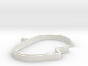Dust Cover Extender for Traxxas in White Premium Strong & Flexible