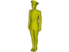 1/35 scale USSR & Russian Army honor guard soldier in Smooth Fine Detail Plastic