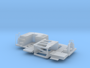 H0 1:87 Zweiwegebagger Umbausatz in Smooth Fine Detail Plastic