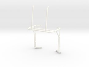 Roll cage 1/12 V5 in White Processed Versatile Plastic