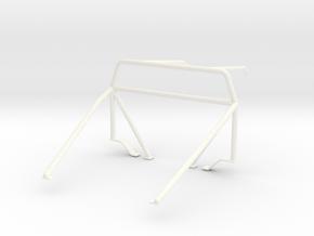 Roll cage 1/24 V3 in White Processed Versatile Plastic