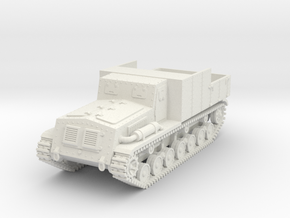1/72 Type 4 Chi-So armored tractor in White Strong & Flexible