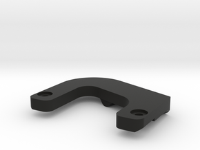 TRAY SUPPORT TILT - PS - V1 in Black Natural Versatile Plastic