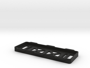 TRAY V4 - SLOTTED-LIGHTENED in Black Strong & Flexible