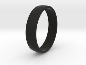Outer ring for DIY bicolor ring in Black Natural Versatile Plastic