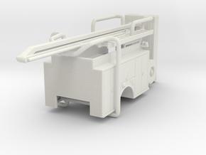 1/87 ALF SQURT body compartment doors #2 in White Natural Versatile Plastic