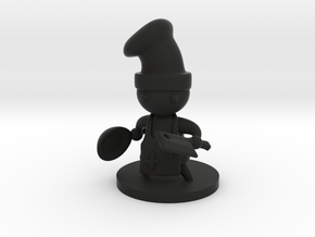 Battle Chef in Black Premium Versatile Plastic