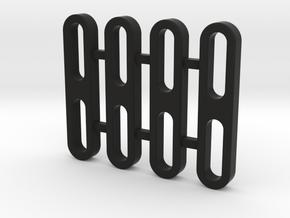 Traxxas TRX-4, Rock Slider Spacer, V2 in Black Natural Versatile Plastic