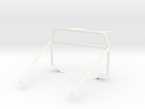Roll cage 1/18 V2 in White Processed Versatile Plastic
