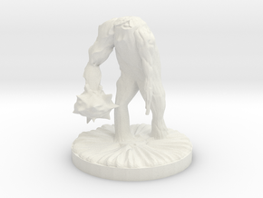 Flesh Golem in White Natural Versatile Plastic