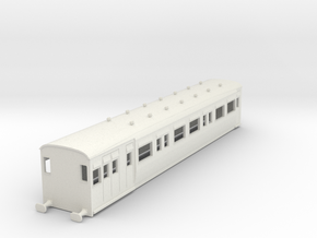 o-87-secr-railmotor-articulated  514-brake-coach in White Natural Versatile Plastic