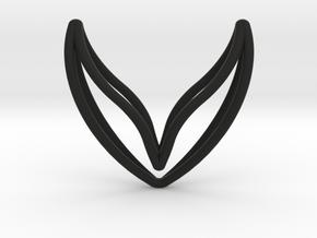 sWINGS Fine, Pendant in Black Premium Versatile Plastic