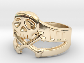 Space Captain Harlock | Ring Size 10.5 in 14K Yellow Gold