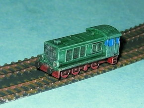 Diesel-Switcher V36 / WR360 1/285 6mm in Smooth Fine Detail Plastic