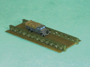 Bailey Bridge 1/285 6mm in Smooth Fine Detail Plastic