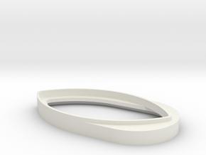 LookAway! Webcam Cover in White Natural Versatile Plastic