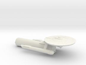 3788 Scale Franz Joseph Federation Tug (Starliner) in White Natural Versatile Plastic