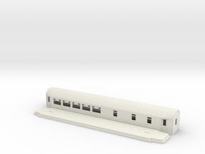 ABo3a - Swedish passenger wagon in White Natural Versatile Plastic