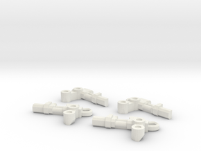 technical arms for servo harness or robot conversi in White Natural Versatile Plastic