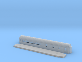 ABo3a - Swedish passenger wagon in Smooth Fine Detail Plastic