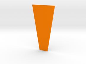 ABR Truss Rod Cover Backing in Orange Processed Versatile Plastic