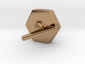 Inner Light Replica Pendant in Polished Brass