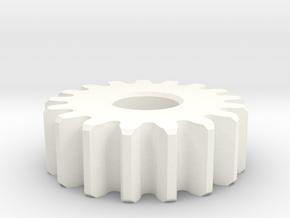 PlanetGear in White Processed Versatile Plastic