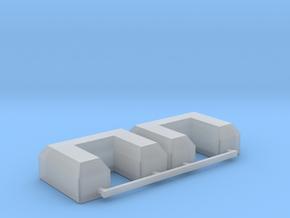 3788 Scale Lyran Cargo Pallets CVN in Smooth Fine Detail Plastic