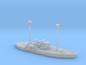 1/1250 Scale Light Ship WAL-605 in Smooth Fine Detail Plastic