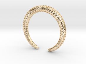 DRAGON Strutura, Bracelet. in 14K Yellow Gold: Medium
