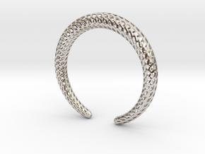 DRAGON Strutura, Bracelet. in Platinum: Medium