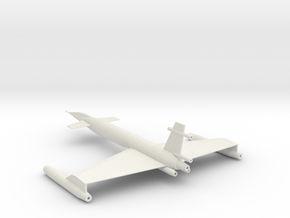 XAB-1 Bomber Scale 144:1 in White Natural Versatile Plastic