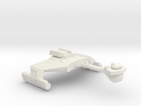 3125 Scale Klingon D5SK Refitted Scout Cruiser WEM in White Natural Versatile Plastic