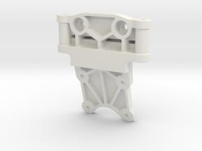 0004 - Astute D5, Front Bulkhead in White Natural Versatile Plastic