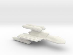 3788 Scale Romulan FireHawk-K Heavy Cruiser MGL in White Natural Versatile Plastic