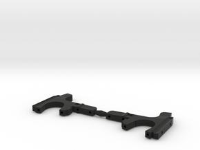 DEX410 DESC410 Front Bulkhead (pair) in Black Natural Versatile Plastic
