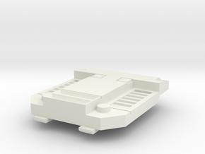 chest plate V1 in White Natural Versatile Plastic