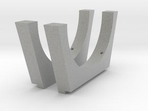 Saddle mount Craddle Rings 2 in Metallic Plastic