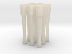 M24 StielhandGranate Pack  in White Acrylic: 1:18