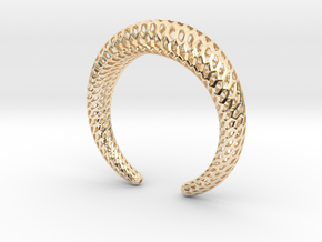 DRAGON Structura, Bracelet. Strong, Bold. in 14K Yellow Gold: Medium