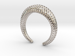 DRAGON Structura, Bracelet. Strong, Bold. in Platinum: Medium