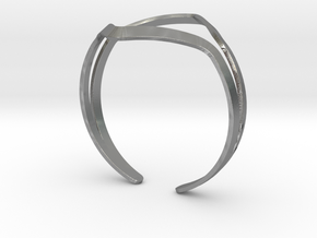 YOUNIVERSAL YY Bracelet in Natural Silver: Medium
