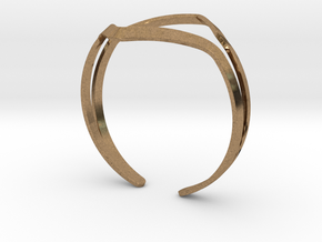 YOUNIVERSAL YY Bracelet in Natural Brass: Medium