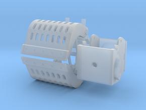 sorteergrijper 17-24ton 3D in Smooth Fine Detail Plastic