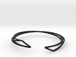 A-LINE Enmotion, Bracelet  in Black Premium Versatile Plastic: Extra Small
