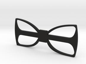 Minimal in Black Natural Versatile Plastic