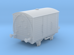 Wisbech Tramway Luggage Van No.9 in Smooth Fine Detail Plastic