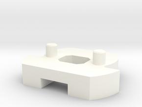 DM1 - Part 3/5 ChassisLock in White Processed Versatile Plastic