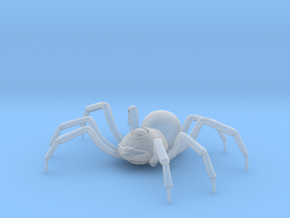 Large Spider in Smooth Fine Detail Plastic: Extra Small