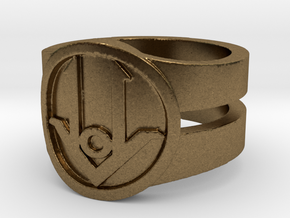 Ring Design ACE 01 in Natural Bronze